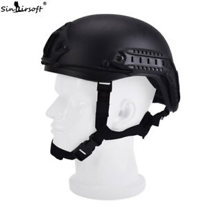 SINAIRSOFT Military Army Tactical Airsoft Protection FAST MH Helmet Combat With
