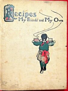 ca1904 Handwritten Recipes In Recipes My Friends' And My Own - Louise Perrett