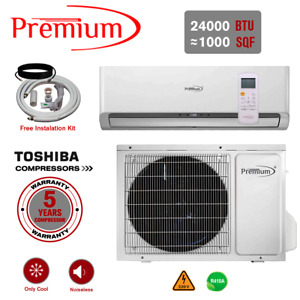 24000 BTU Air Conditioner Mini Split AC Ductless ONLY COLD 220V