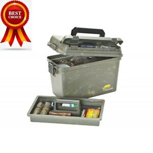 Plano Plastic Field Box Ammo Can Water Resistant Case Gear Storage Container