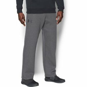 NWT Men's UNDER ARMOUR COLD GEAR Big & Tall RIVAL Sweatpants GRAY 4XL