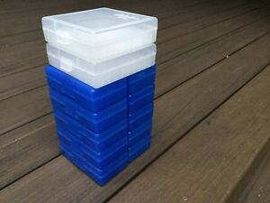 10 Frankford #501 + 2 Cabela's .3809mm 50 Rd Ammo Box Blue (Ammo not included)