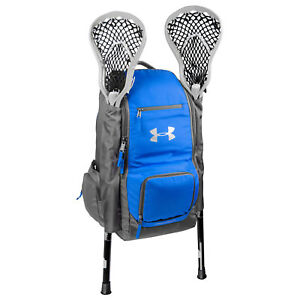 Under Armour LAX Lacrosse Backpack Bag - Royal