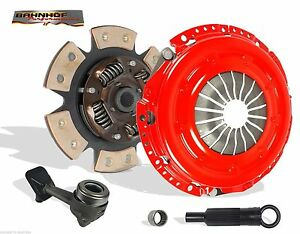CLUTCH KIT AND SLAVE STAGE 2 BAHNHOF FOR 00-04 FORD FOCUS 2.0L 4CYL ONLY DOHC