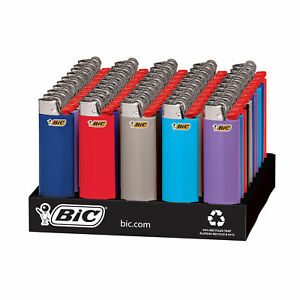 BIC Classic Lighter Assorted Colors 50 Count Tray $47.99