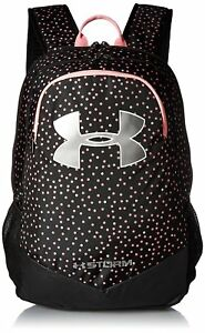 Under Armour Boys Storm Scrimmage Backpack BlackPinkMetallic Silver One Size