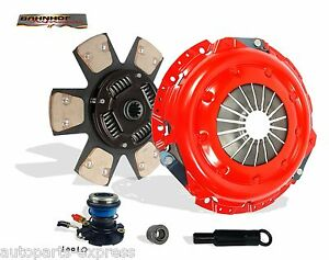 CLUTCH WITH SLAVE KIT STAGE 2 BAHNHOF FOR 95-97 FORD BRONCO F150 F250 F350 5.8L