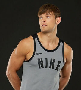Men's Sleeveless Basketball Top Nike Dry Knit Dri-FIT Hyper Elite Vest Tank (S)