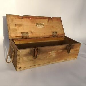 Ammunition Box Armed Forces Tank Army Box II World War Armed Forces Granatkiste
