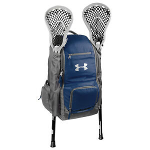 Under Armour LAX Lacrosse Backpack Bag - Navy