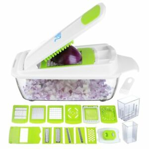 Vegetable Chopper Pro Onion Chopper - Mandoline Slicer Dicer Cutter  Grater -