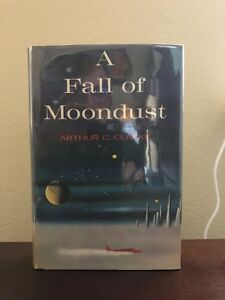 A Fall Of Moondust Arthur C. Clarke  Fine First Edition Harcourt Brace 1961