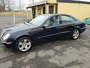 2005 Mercedes-Benz E-Class  Clean new car dealer trade in. less than average miles.