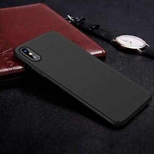 Slim Fit iPhone Xs Max Case Hard Plastic Ultra Thin Protective Phone Cover Case