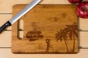 Personalized Cutting Board, Wedding Gift, Laser engraved, couple cutting board
