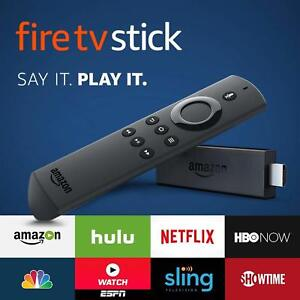 Fire TV Stick Alexa Voice Remote Streaming Media Player Netflix Hulu WIFI HDMi