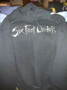 Six Feet Under Hoodie No Sleeve Prints $35.00