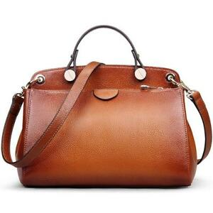 Ab Earth Genuine Leather Designer Handbag For Women Clearance Doctor Style Top-H