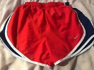womens nike dri fit shorts xs $18.00