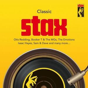 CLASSIC STAX Various Artists NEW & SEALED 3X CD SET  60s 70s Soul R&B (Spectrum)