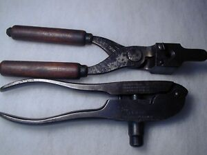 RARE 1882 WINCHESTER 44 WCF 44-40 SINGLE CAVITY BULLET MOLD and RELOADING TOOL