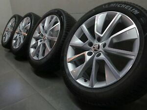 18 Inch Summer Wheels Original Skoda Karoq Nu Braga Design 57A601025D Normal