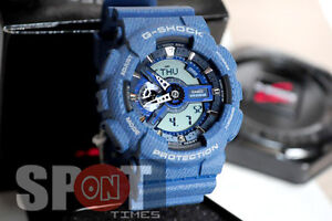Casio G-Shock Denim Design Men's Watch GA-110DC-2A