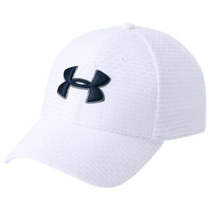 2018 Under Armour Mens Printed Blitzing 3.0 Golf Cap UA Stretch Fit Baseball Hat
