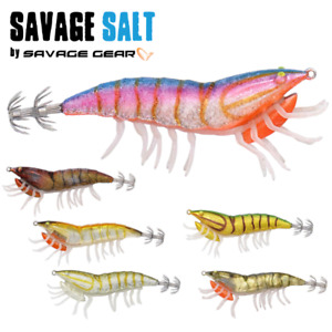 Savage Gear Squid Fishing Lure 3D Hybrid Shrimp Egi 9.2Cm21G