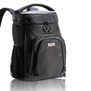 Insulated Large Lunch Cooler Backpack - Soft Coolers Leak Proof Bag Black