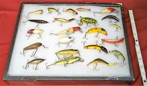 CCB Clark South Bend & More Fishing Lure Display