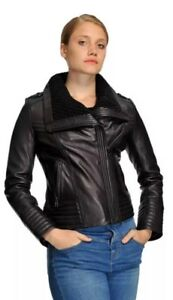 Michael Kors Leather Jacket 1X Moto Plus Women