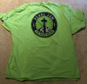 Pearl Jam seattle t shirt xxl 2018 the home shows mariners seahawks safeco field