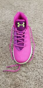 Under armour girls grade school SC basketball shoes size 6y
