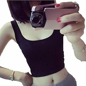 Women's Tight Crop Tops T-shirt Funic Skinny O Neck T-shirt Sports Dance Short