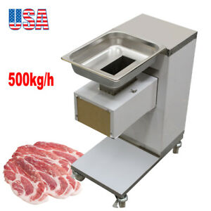 Commercial Heavy Duty Electric Stainless Steel Meat Slicer Cutter Machine 3mm CE