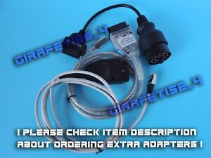 BMW 2022 RHEINGOLD KDCAN ENET 20 PIN ADAPTER FULL DIAGNOSTIC PACKAGE FAULT $103.99