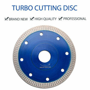 115mm Thin Turbo Diamond Saw Blade Cutting Disc Concrete Stone For Angle Grinder
