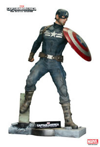 Captain America The Winter Soldier Life-Size Statue Figure Oxmox Muckle