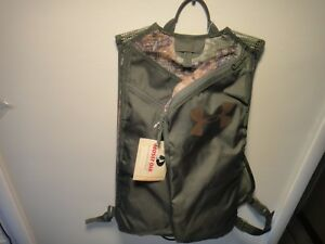 Under Armour & mossy oak Backpack Hunting Mesh Green & Camo Backpack