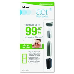 Holmes AER1 Allergen Remover True HEPA Replacement Filter Home Air Purifier