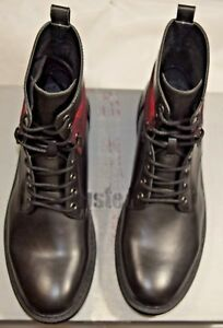 UNLISTED BY KENNETH COLE MEN'S DESIGN 301955 BOOTS BLACK 8.5 NEW