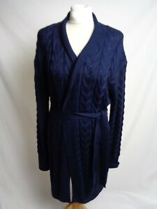 Temperley London second hand ladies cable knitted wool cardigan