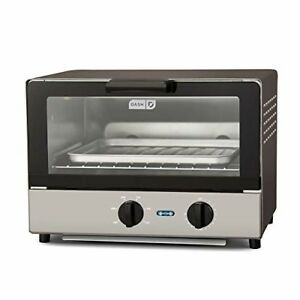 Dash Compact Toaster Oven Cooker for Bread Bagels Cookies Pizza Paninis Mo