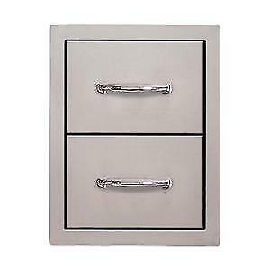 Sole Gourmet 15 Inch Double Access Drawer