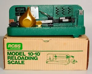 Vintage RCBS 10-10 Reloading Scale Excellent in Original Box