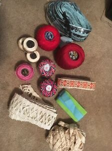 Vintage Thread and Trim Misc Lot $7.00