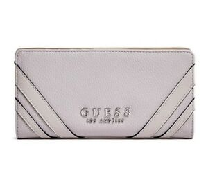 GUESS Womens Blush Faux Leather Logo Smartphone Wallet Purse NEW