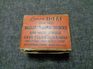 Ideal Single Cavity Bullet Mold 454RB & handles