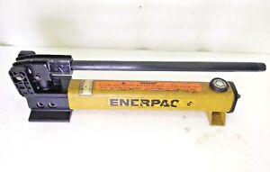 Enerpac P-2282  Two Speed Ultra-High Pressure Hydraulic Hand Pump 40000 psi